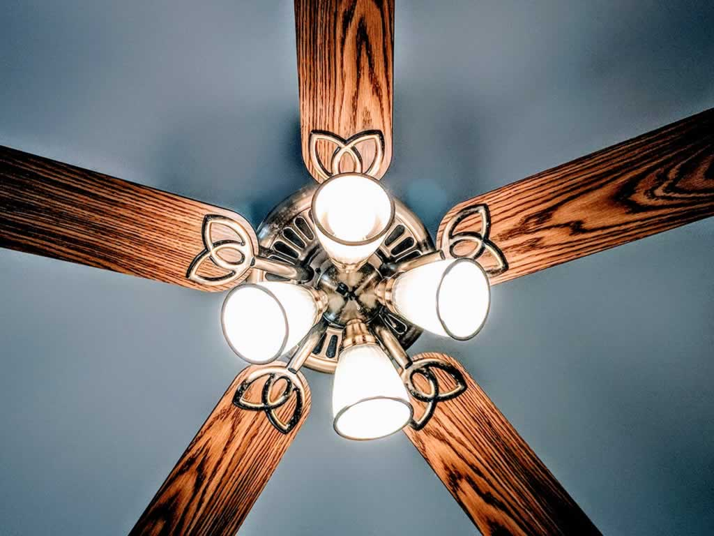 Basic home upgrades you can do yourself - ceiling fan