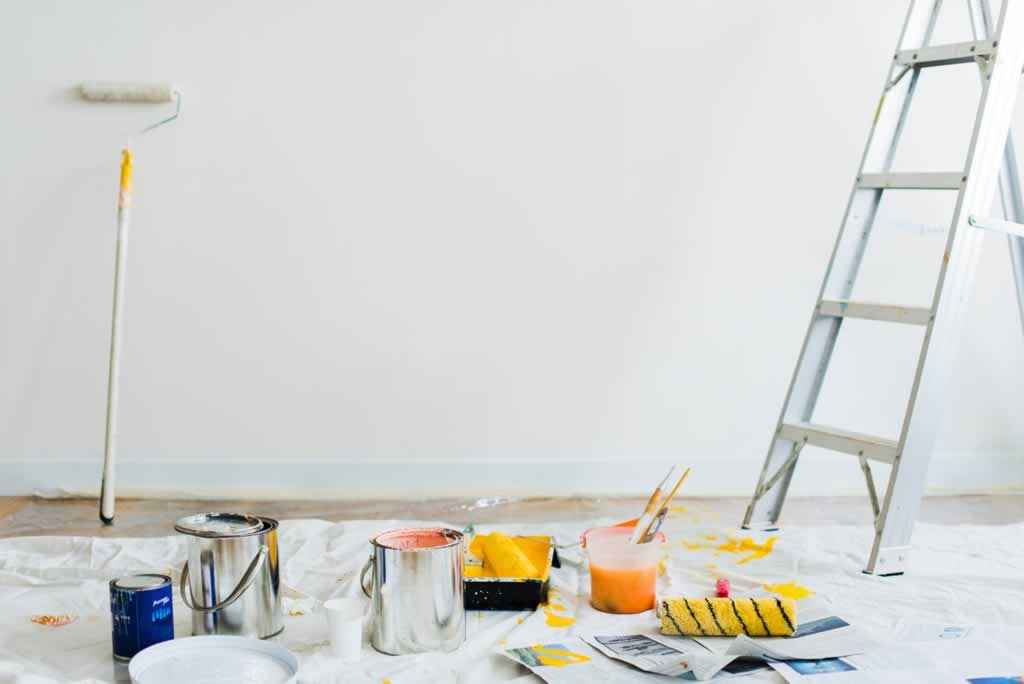Basic home upgrades you can do yourself - painting