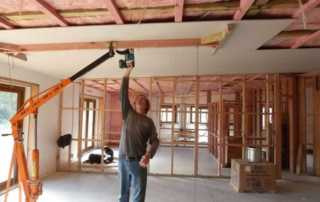 Doing DIY Drywall at home tips - drywall lift