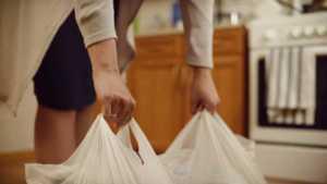 Dumbwaiters in Dallas - plastic bags