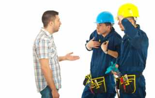 How to deal with a bad contractor - arguing