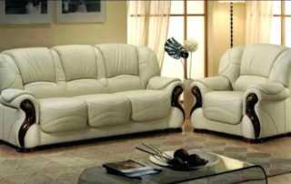 How to determine the best leather brand - white leather sofa