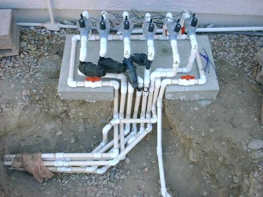 How to install Poly Pipe - manifold