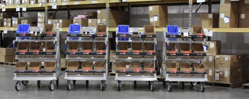 The top 3 Carts for filling e-commerce orders
