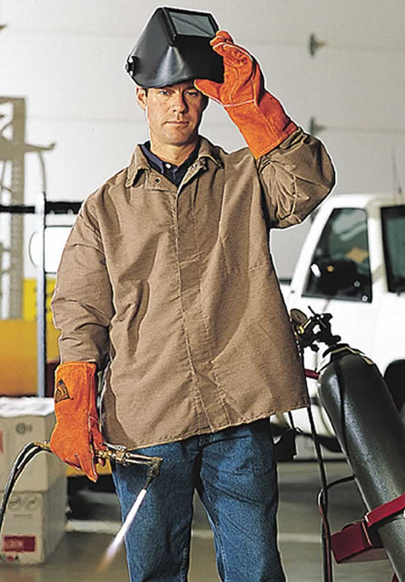 All about welding - protective clothing