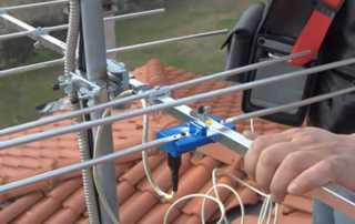 Cut the cable - DIY TV antenna installation - antenna
