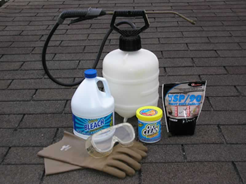 DIY roof maintenance to avoid roof repairs - cleaning the roof