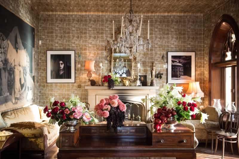 Florist Taboos you should break - flowers in the living room