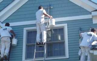 Home repairs you can DIY - painting home exterior
