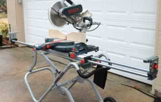 How to choose miter saw stand - Bosch miter saw stand