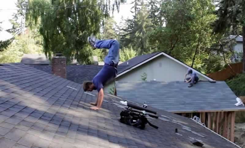 How to find a good roofing contractor - funny roofing