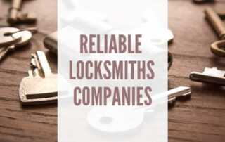Reliable Locksmith Companies