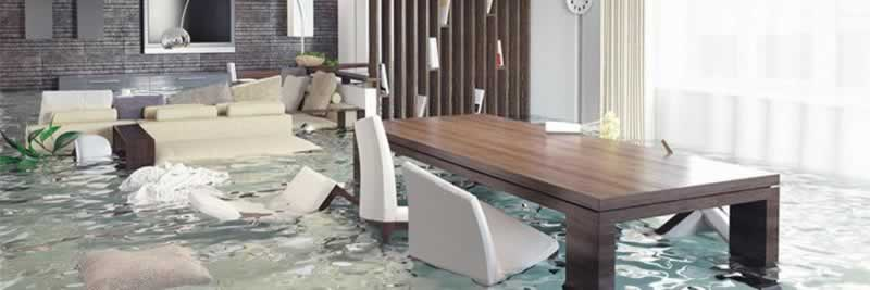 What damage can a flood cause - flood in the house