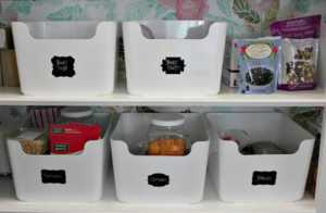 DIY projects for a clutter-free home - organizing boxes