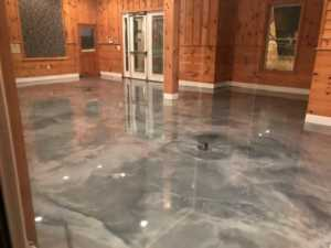 Do It Yourself Epoxy Floor Coating - polished floor