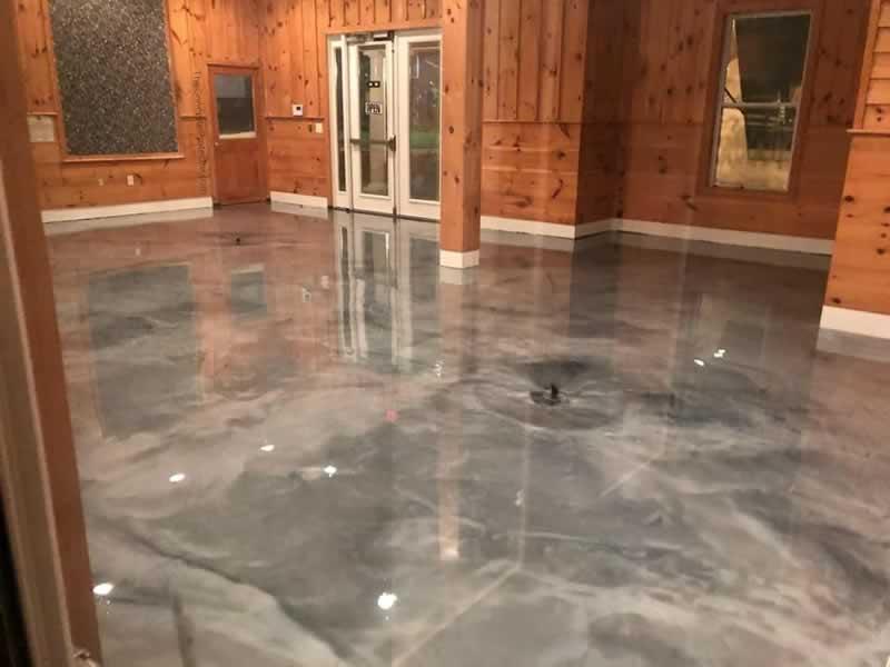 Do It Yourself Epoxy Floor Coating - polished floor
