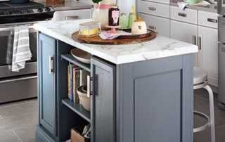 How to build a kitchen island - beautiful kitchen island