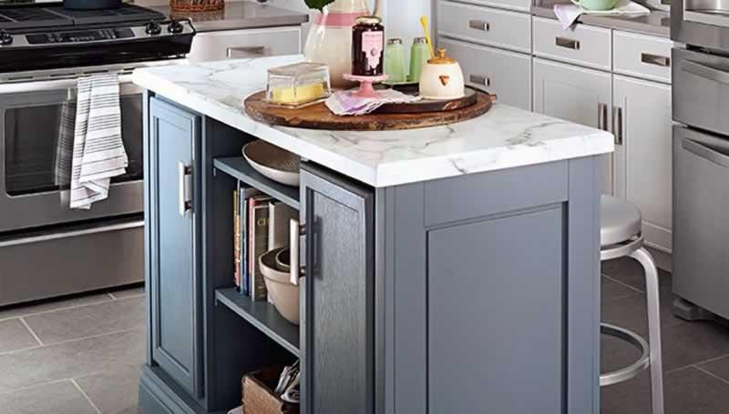 How to build a kitchen island - beautiful kitchen island