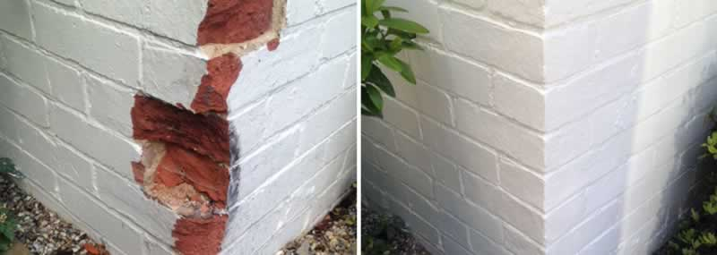 How to fix an edge or corner of a wall