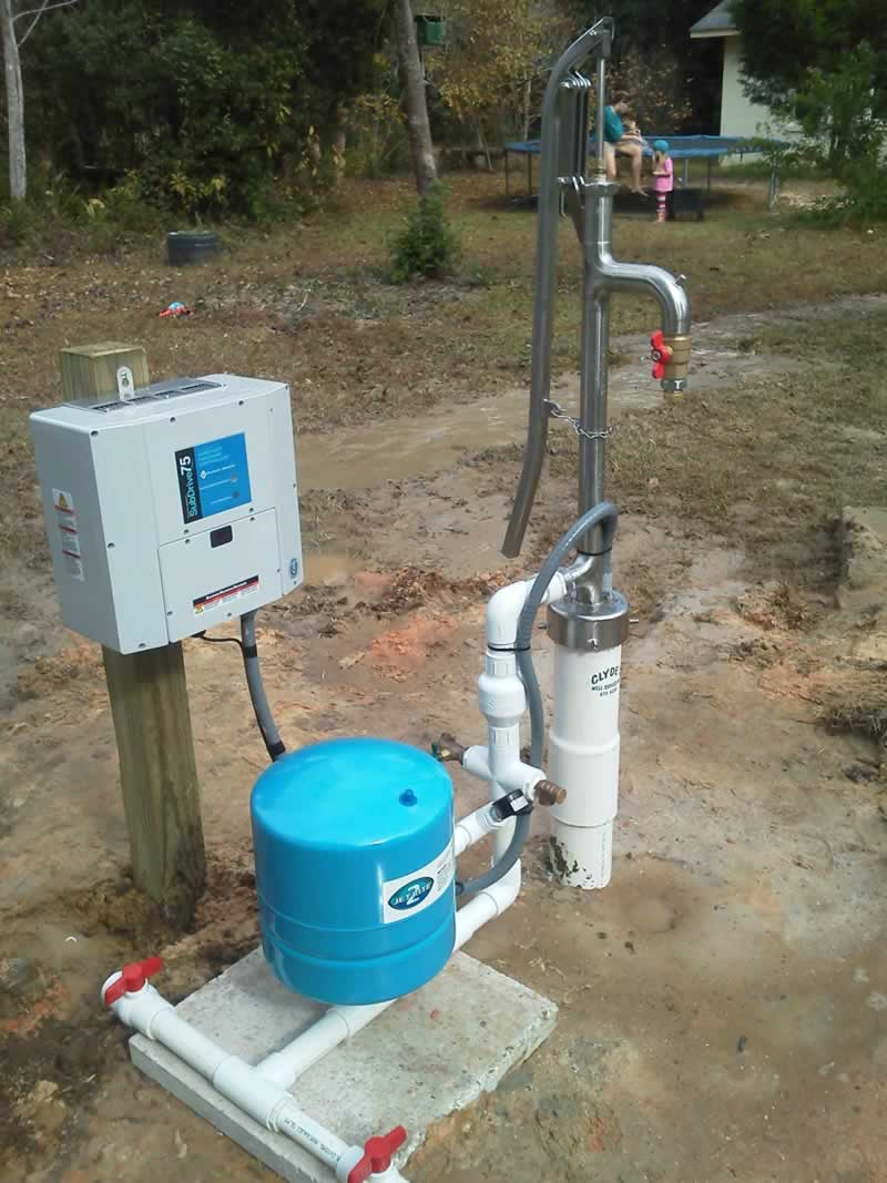 How to prime a water pump - outdoor system