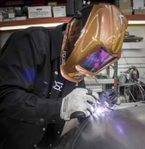 How to weld sheet metal on a car - welding