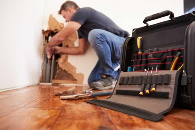 Residential plumbing power tips - fixing plumbing in wall