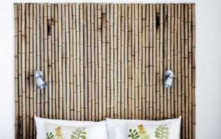 12 Fascinating Japanese Style Home Decor Ideas - bamboo wall