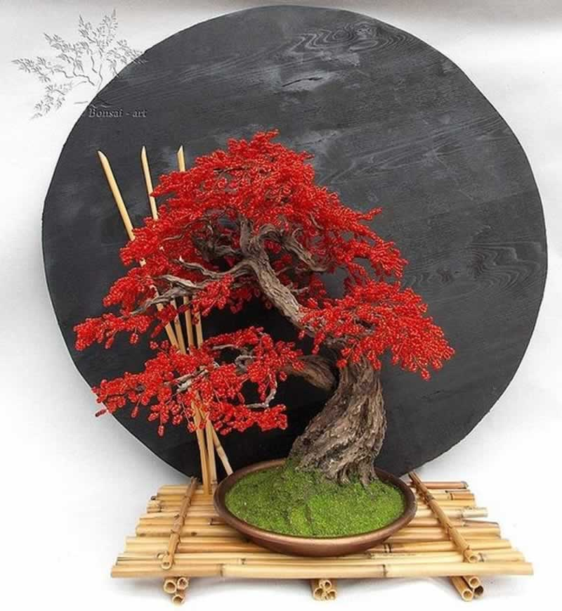 12 Fascinating Japanese Style Home Decor Ideas - bonsai tree
