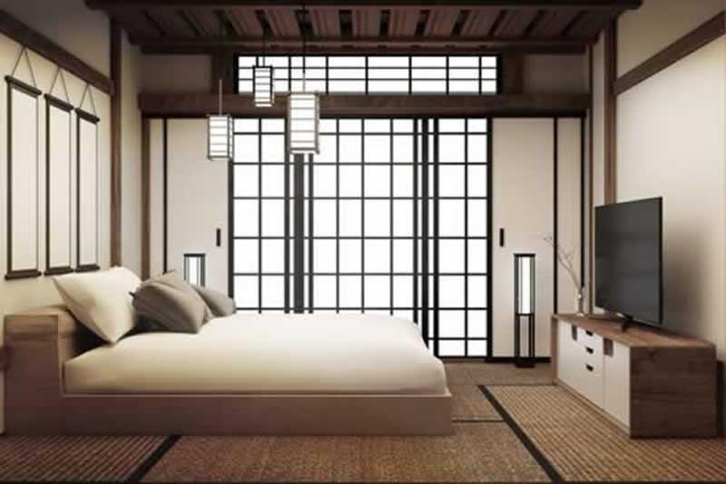 12 Fascinating Japanese Style Home Decor Ideas - lighting