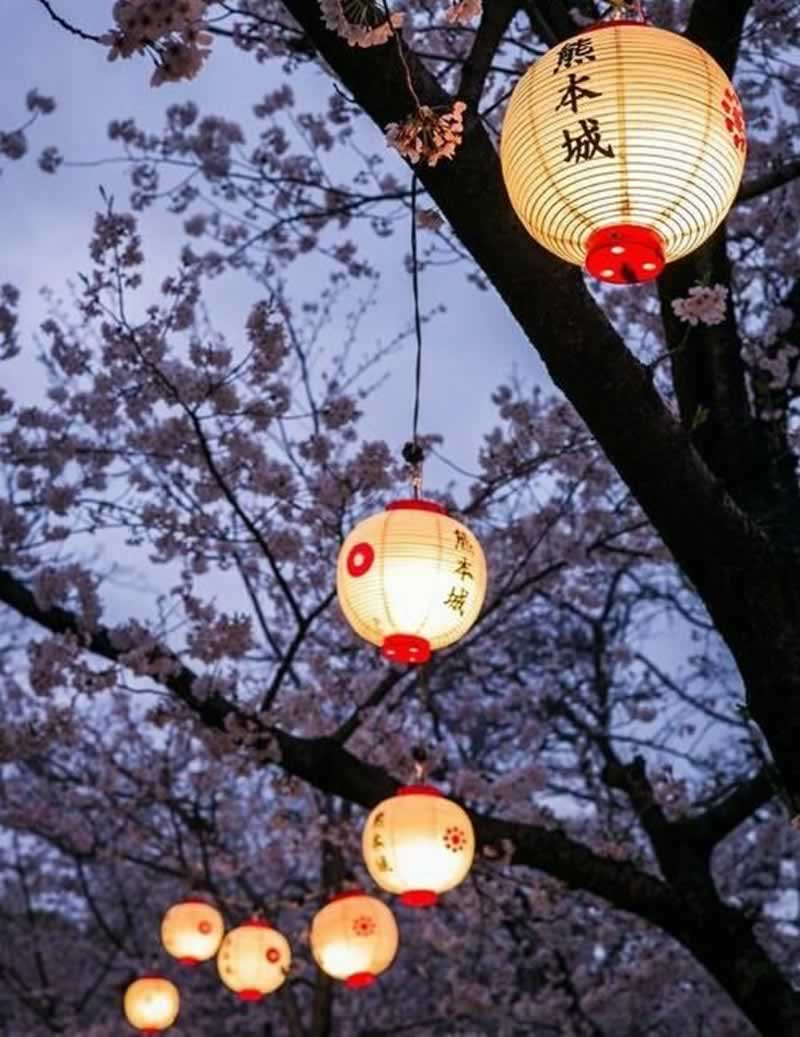 12 Fascinating Japanese Style Home Decor Ideas - paper lantern
