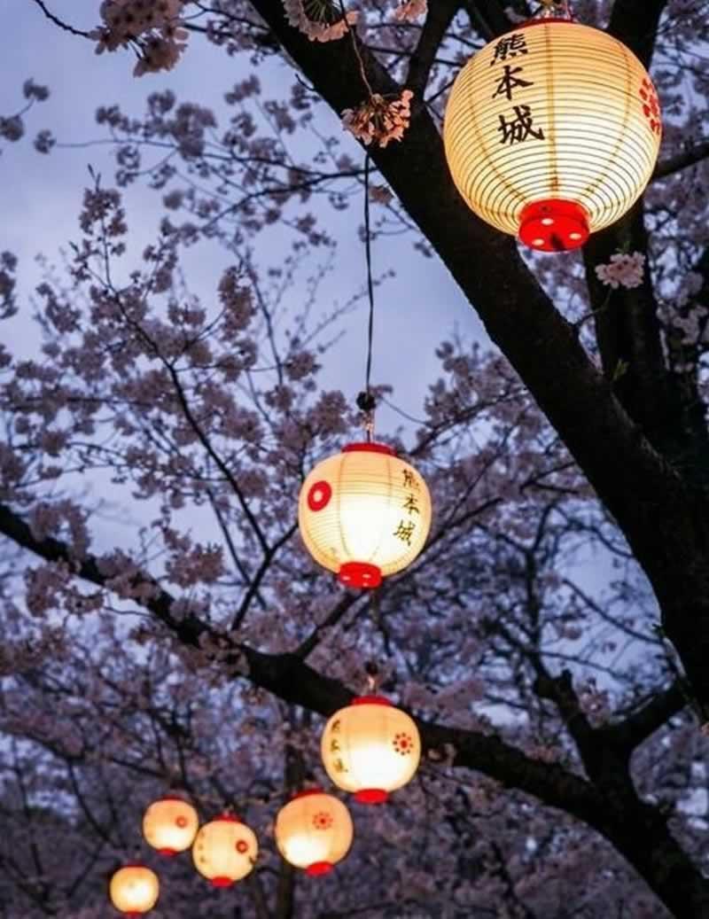 12 Fascinating Japanese Style Home Decor Ideas - paper lantern