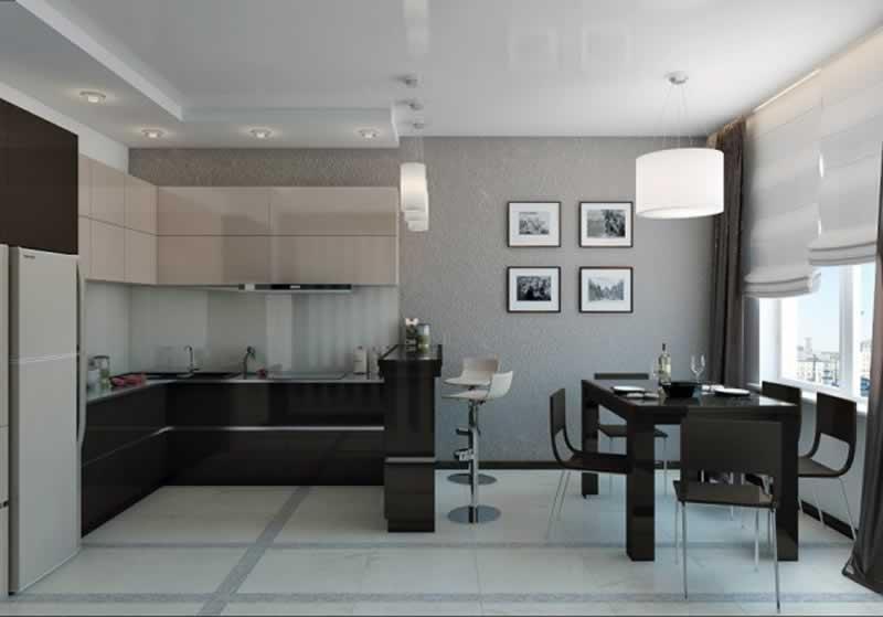 9 Brilliant Design Ideas for Remodeling a Small Kitchen - minimalist kitchen