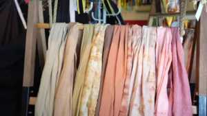 Amazing DIY Curtain Ideas for Your Home - tie dye