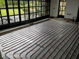 Central Heating Solutions - underfloor heating system