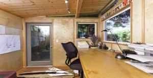 DIY Methods to Turn your Garden Shed into an Office Space - indoor