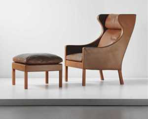 The Effortless Adjustability of the Borge Mogensen Chair Ottoman You Can't Miss Out On - compact shape