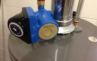 The recirculating pump brings instantaneous hot water - recirculating pump