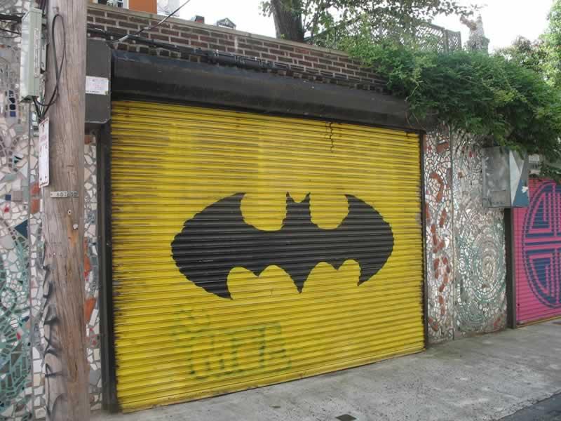 Turning Your Garage Into A Man Cave - batman garage doors