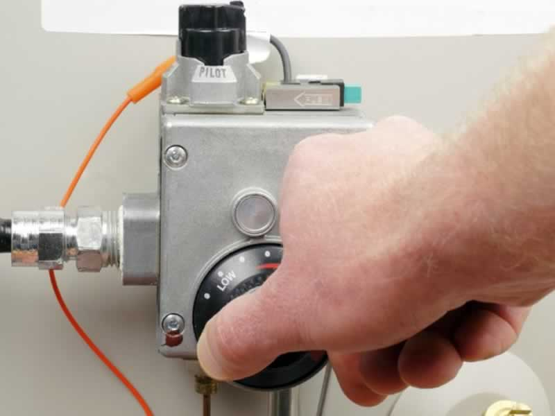 What to do When Your Water Heater Starts to Break Down - thermostat