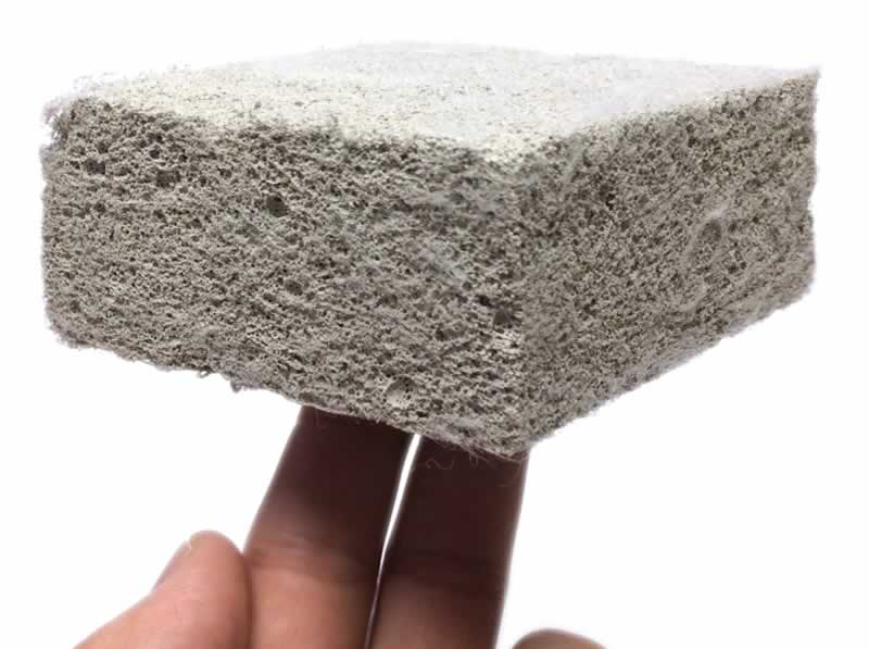 Most commonly used thermal insulators or heat resister in construction - lightweight concrete