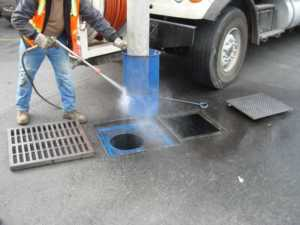 Prevent a Blocked Stormwater Drain - cleaning stormwater drain