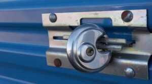Types of locks for storage units