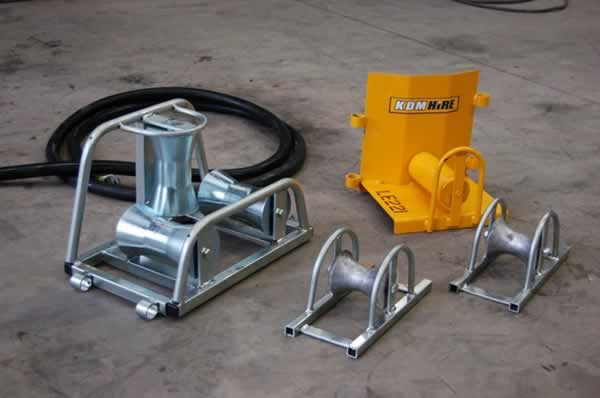 Cable Rollers for Wire Pulling