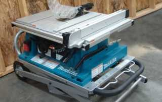 Everything you need to know about compact table saws - folded table saw