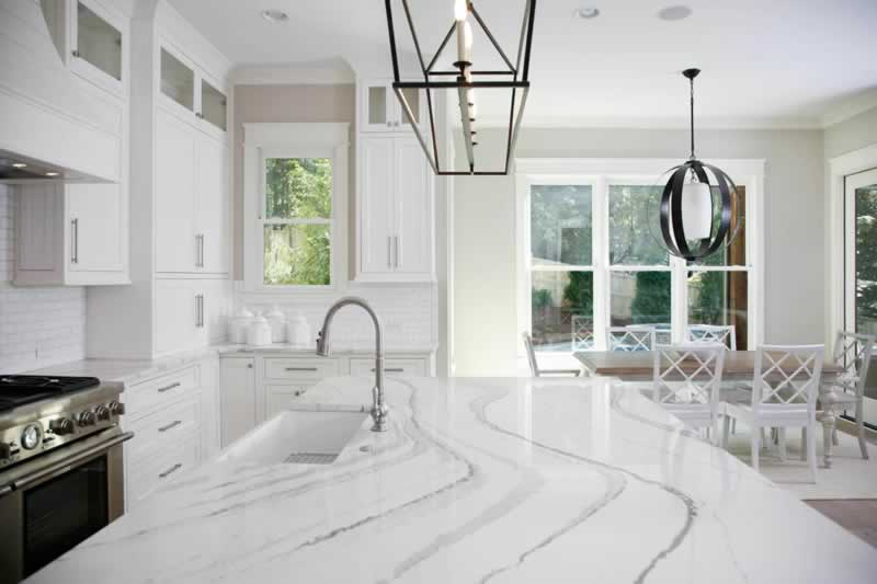 How quartz countertops compare with other natural stones - beautiful countertop