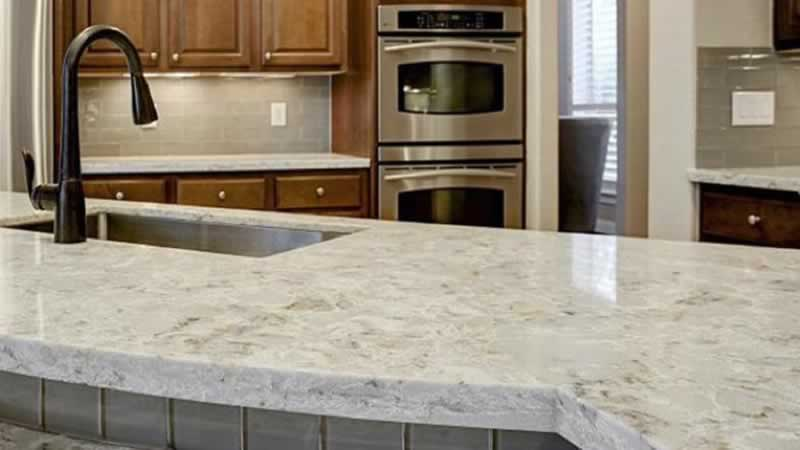 How quartz countertops compare with other natural stones - classic kitchen