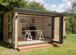 How to Create a Dream Office in Your Garden