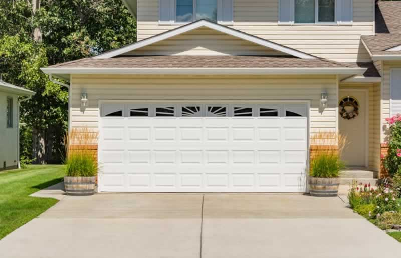 Options for Matching Your Garage and Front Entry Doors - garage door