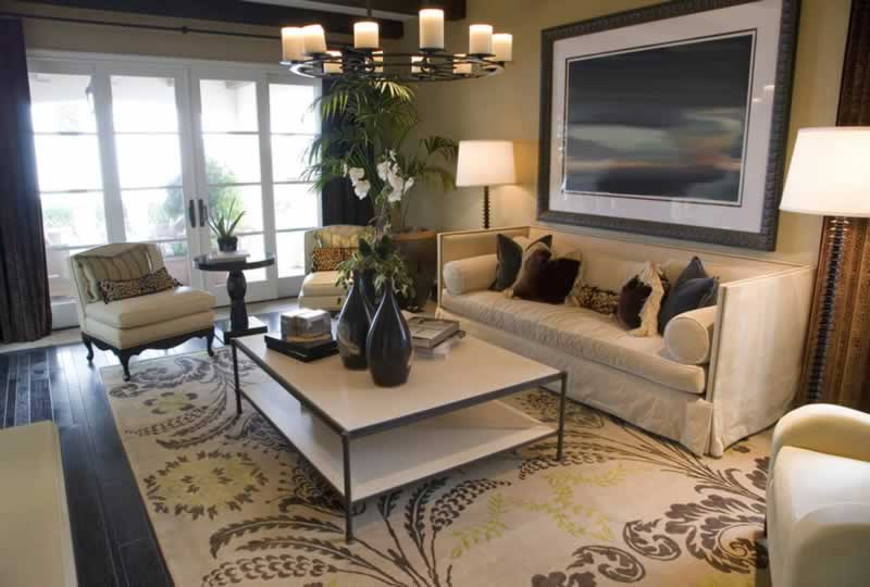 5 Easy Ways to Cozy Up Your Home - living room
