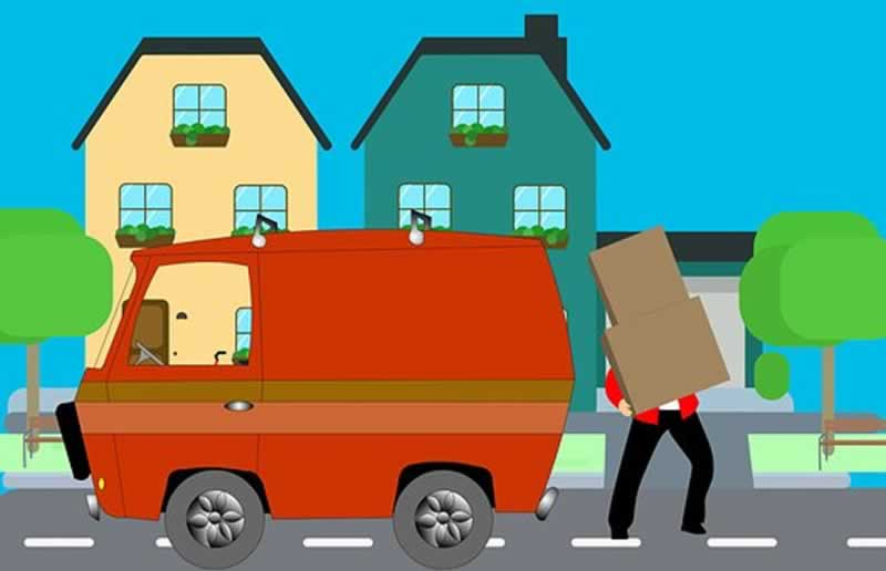 8 Important Things to Know When Moving Into Your New House - van